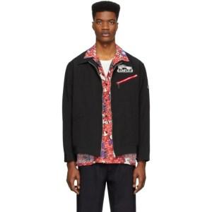 Miharayasuhiro Reversible Black Inside Shirt Jacket