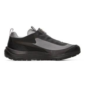 11 by Boris Bidjan Saberi Grey Salomon Edition Bamba 2 Low-Top Sneakers
