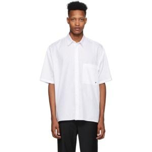 Etudes White Illusion Monogram Shirt