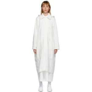 Toogood White The Ploughman Coat