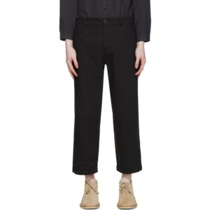 Toogood Black The Bricklayer Trousers