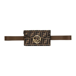 Fendi Brown Forever Fendi F is Fendi Belt Bag