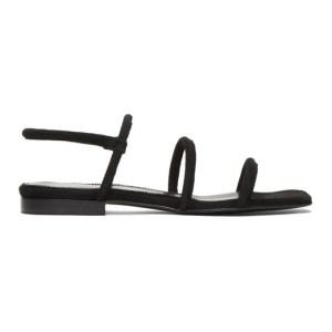 Dorateymur Black Easy Sandals