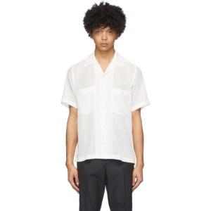 CMMN SWDN White Mesh Dexter Shirt