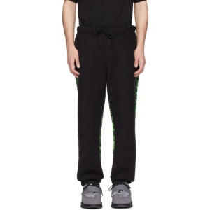 Perks and Mini Black and Green Neighborhood Edition Lounge Pants