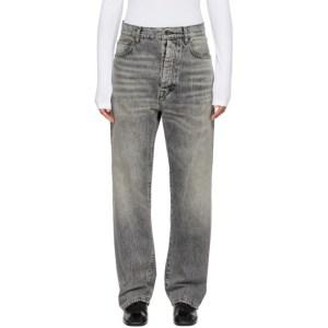 Unravel Black Baggy Boy Jeans
