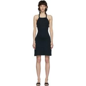 Vejas SSENSE Exclusive Black Braided Mini Dress