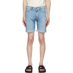 Tiger of Sweden Jeans Blue Denim Ash Shorts