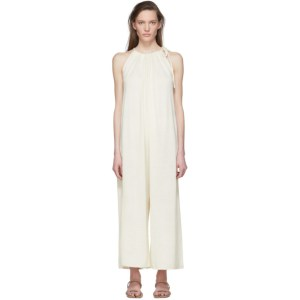 Lauren Manoogian Off-White Draw Jumpsuit