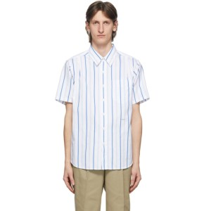 Noah Blue Stripe Studio Shirt