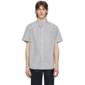Noah Black Stripe Studio Shirt