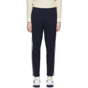 Missoni Navy Side Band Lounge Pants