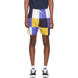 Aime Leon Dore Multicolor Checkered Shorts