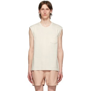 Second/Layer Off-White Interlock T-Shirt