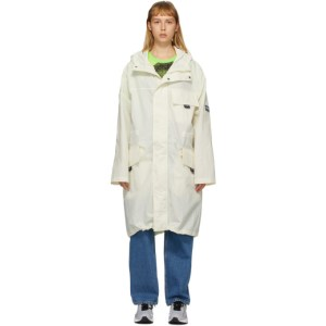 NAPA by Martine Rose White A-Lantic Packable Coat