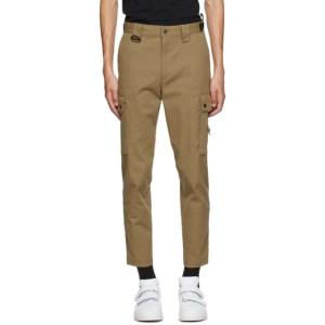 Diesel Tan P-Freddy Cargo Pants