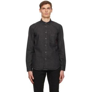 Diesel Black Denim D-Billy Shirt