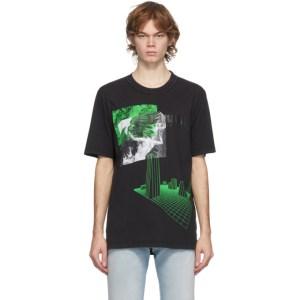 Diesel Black T-Jubind-Slits T-Shirt