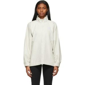 Nike Beige Woven Sportswear Jacket