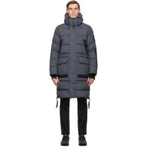 Canada Goose Grey Black Label Warwick Jacket