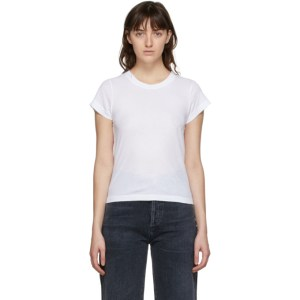 Citizens of Humanity White Juliette Slim T-Shirt