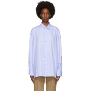 ADER error Blue Cinder Shirt