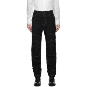 Palomo Spain Black Twill Arthur Jeans