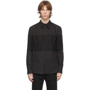 Palomo Spain Black Lace Ulises Shirt