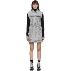rag and bone Grey Trucker Dress