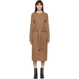 rag and bone Beige Alnai Mid-Length Dress