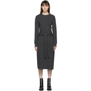 rag and bone Grey Alnai Mid-Length Dress