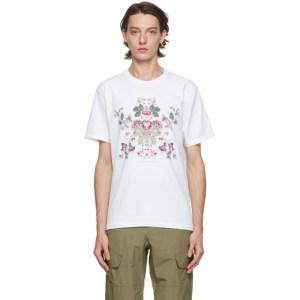 rag and bone White Laura Ashley Edition Classic T-Shirt