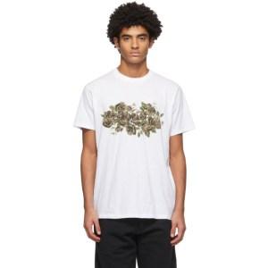 rag and bone White Floral Camo T-Shirt