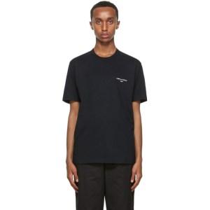 Comme des Garcons Homme Black Logo T-Shirt
