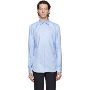 Comme des Garcons Homme Deux Blue Oxford Shirt