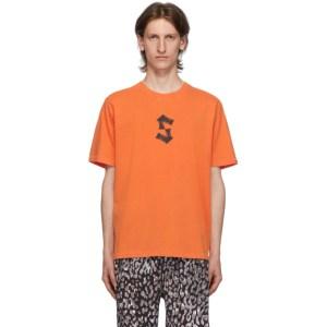 Stolen Girlfriends Club Orange Painted S T-Shirt