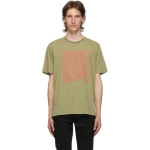 Stolen Girlfriends Club Green Stolen Warp T-Shirt