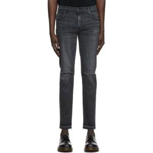 Moussy Vintage Black Denim MVM Kyle Skinny Jeans