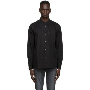 Moussy Vintage Black Zip Shirt
