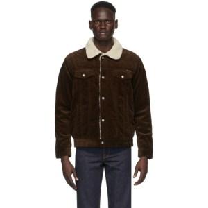 Nudie Jeans Brown Corduroy Bonny Jacket