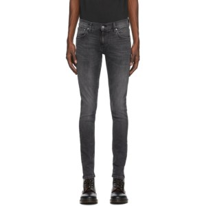 Nudie Jeans Grey Tight Terry Jeans