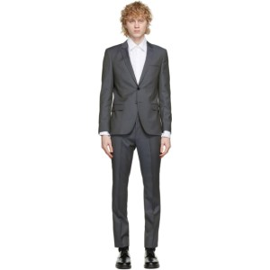 Hugo Grey Arti and Hesten Extra Slim Fit Wool Suit