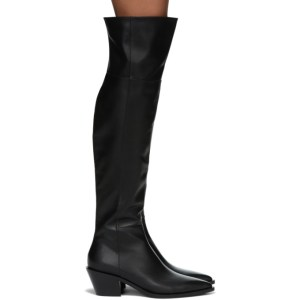 Gianvito Rossi Black Over-The-Knee Boots
