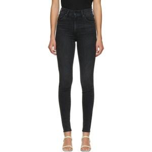 Levis Black Mile High Super Skinny Jeans
