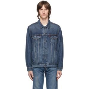 Levis Blue Denim Vintage Fit Trucker Jacket