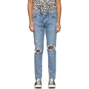 Levis Blue Slim Taper 512 Jeans