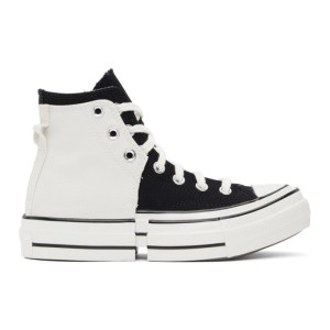 Feng Chen Wang Black and White Converse Edition 2-In-1 Chuck 70 High Sneakers