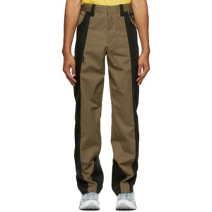 Affix Tan and Black Duo-Tone Work Trousers