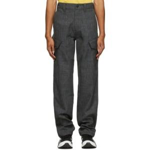 Affix Grey Sharkskin Service Cargo Pants
