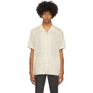 Tiger of Sweden Off-White Riccerde Short Sleeve Shirt